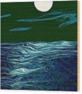 Full Moon 3 Wood Print