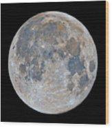 Full Moon / Day 15 Wood Print