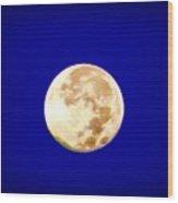 Full Moon Fever Wood Print
