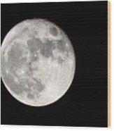 Beaver Moon Wood Print