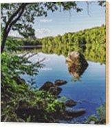 Fuller Pond Wood Print
