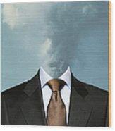 Fumar Wood Print