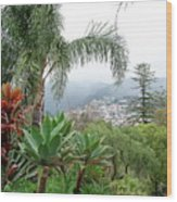 Funchal Maderia Wood Print