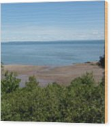 Fundy View Wood Print