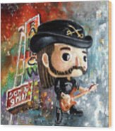 Funko Lemmy Kilminster Out To Lunch Wood Print