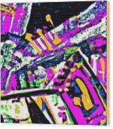 Funky Pop-7 Wood Print