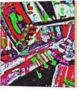 Funky Pop-9 Wood Print