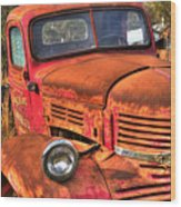 Funky Ride Wood Print