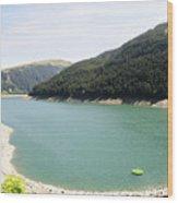 Funsingau Dam Near Gerlos Wood Print