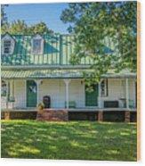Fuqua Farm House 2526t Wood Print