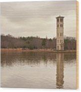 Furman Bell Tower 4 Wood Print