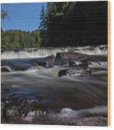 Furnace Falls - Minden Hills Wood Print