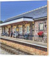 Furnace Sidings Railway Station 2 Wood Print