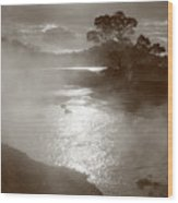 Furnas Hotsprings Wood Print