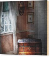 Furniture - Bedroom - Family Secrets Wood Print by Mike Savad