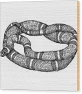 Fursnake Wood Print