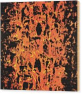 Fury Wood Print