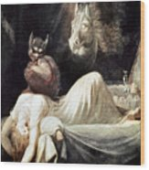 Fuseli: Nightmare, 1781 Wood Print