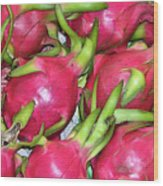 Fushia Fruit Wood Print