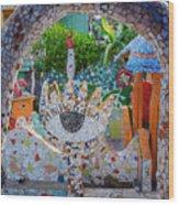 Fusterlandia Havana Cuba Wood Print