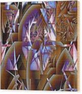 Future Gothic Wood Print