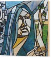 Future Mary Wood Print