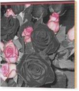 Fwc Anniversary Roses Wood Print