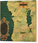 Gabon, Angola And Congo Wood Print