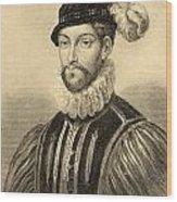 Gabriel De Lorges, Comte De Montgomery Wood Print