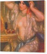 Gabrielle At The Mirror 1910 Wood Print