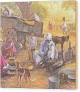 Gadiya Luhar Wood Print