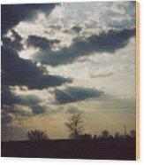 Gahanna Ohio Landscape Wood Print