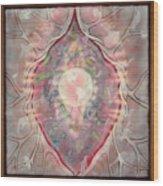 Gaia Goddes Of The Earth Wood Print
