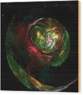 Gaia Revealed Wood Print