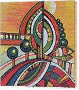 Gaia's Dream Wood Print