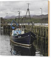 Gairloch Harbor Wood Print