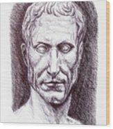 Gaius Julius Caesar Wood Print