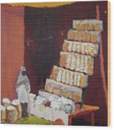 Gajak Sweet Shop Wood Print