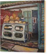 Gajak Sweet Shop Orchha Wood Print