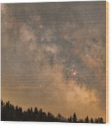 Galactic Center Wood Print