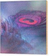 Galactic Eye Wood Print