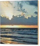 Galaveston Tx 358 Wood Print