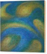 Galaxia Wood Print