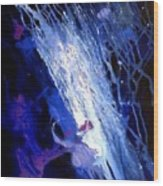 Galaxy Abstract4of4 Wood Print