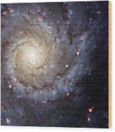 Galaxy Swirl Wood Print