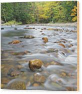 Gale River - Franconia New Hampshire  Wood Print