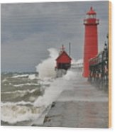 Gale Warnings Wood Print