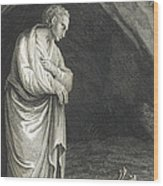 Galen, Greek Physician And Philosopher Wood Print