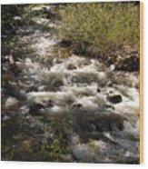 Galena Creek Wood Print