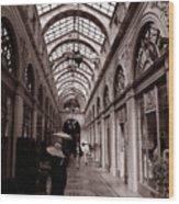 Galerie Vivienne 2 Wood Print